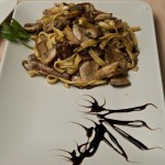 Pasta with porcini mushrooms Farmhouse Anna